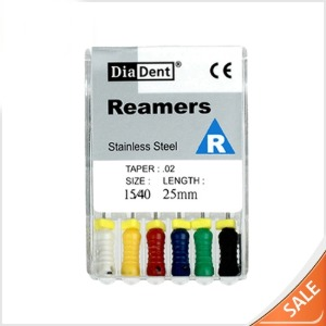 Stainless handfile Reamer (6pcs/box)